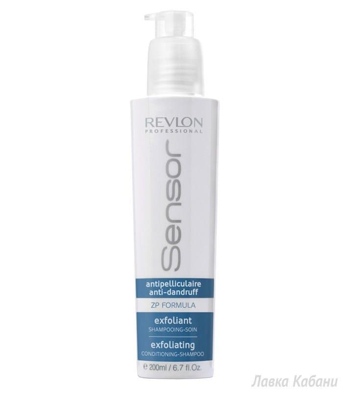 Фото Шампунь-кондиционера против перхоти Revlon Professional SENSOR Exfoliating Shampoo
