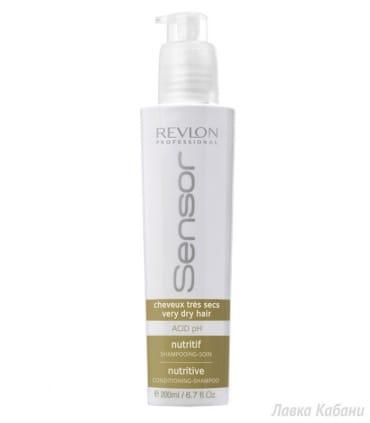 Шампунь-кондиционер питательный Revlon Professional Sensor Shampoo Nutritive