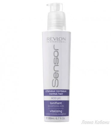 Шампунь-кондиционер восстанавливающий Revlon Professional Sensor Shampoo Vitalizing