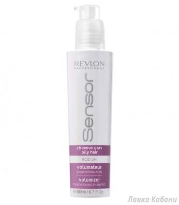 Шампунь-кондиционер для жирной кожи головы Revlon Professional Sensor Shampoo Volumizer