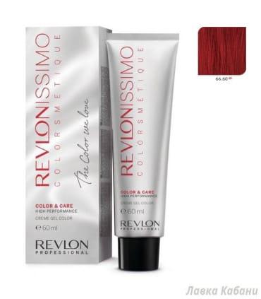 66/60 Интенсивный огненно-красный Revlon Revlonissimo Colorsmetique