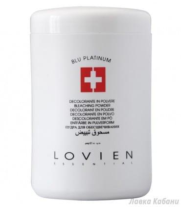 Голубая пудра для обесцвечивания волос Lovien