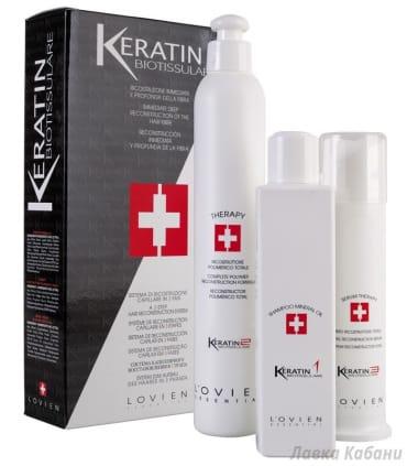 Система глубокого восстановления волос Lovien Keratin Hair Reconstruction System