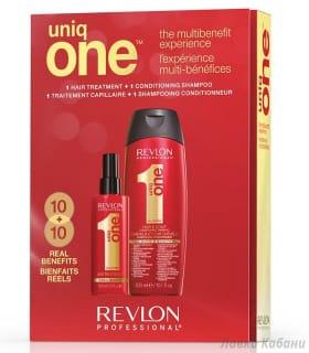 Подарочный набор спрей и шампунь Uniq One