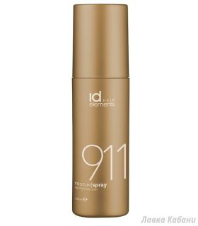 Фото спрея 911 Id Hair Gold Paste Strong Flexible Hold