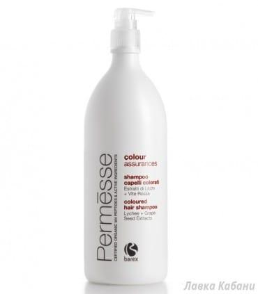 Шампунь для окрашенных волос Barex Permess 1000 мл