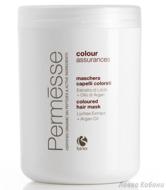 Фото Маски для окрашенных волос - Barex Permesse, 1000 мл