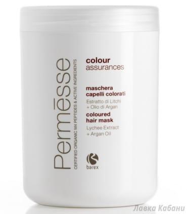 Маска для окрашенных волос Barex Permesse, 1000 мл