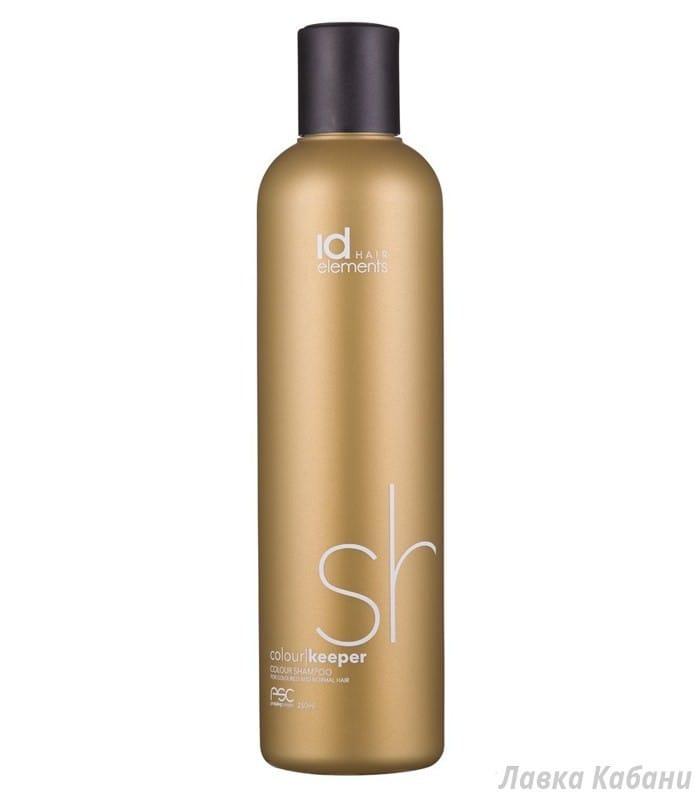 Фото Шампуня для окрашенных волос Id Hair Gold Colour Keeper Shampoo, 250 мл