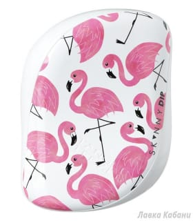 Фото 1 Tangle Teezer Compact Styler Flamingo Skinny Dip White