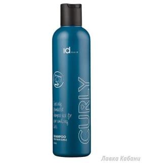 Фото1. Шампунь для вьющихся волос Id Hair Curly Shampoo, 250 мл