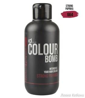 Фото Тонирующего бальзама Strong Paprika Id Hair Colour Bomb