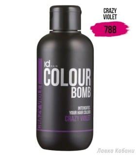 Фото Тонирующего бальзама Crazy Violet Id Hair Colour Bomb