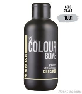 Фото Тонирующего бальзама Cold Silver Id Hair Colour Bomb