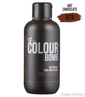 Фото Тонирующего бальзама Hot Chocolate Id Hair Colour Bomb