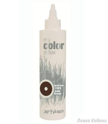 Тонирующий темно коричневый гель Artego My Color Reflex