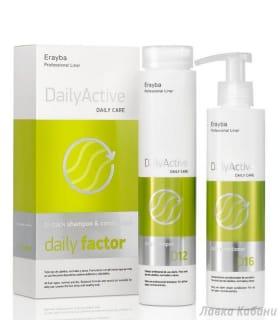 Набор шампунь+кондиционер для всех типов волос Erayba D12/16 Daily Factor Set