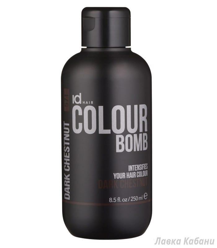 Фото Dark Chestnut IdHair Colour Bomb