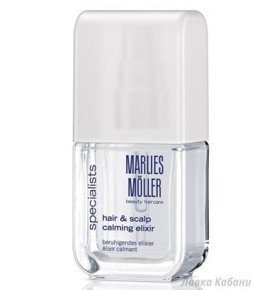 Успокаивающий эликсир для волос и кожи головы Marlies Moller