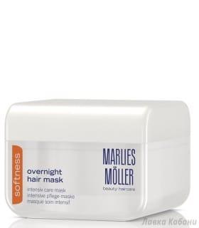 Фото Интенсивной ночной маски для гладкости волос Marlies Moller