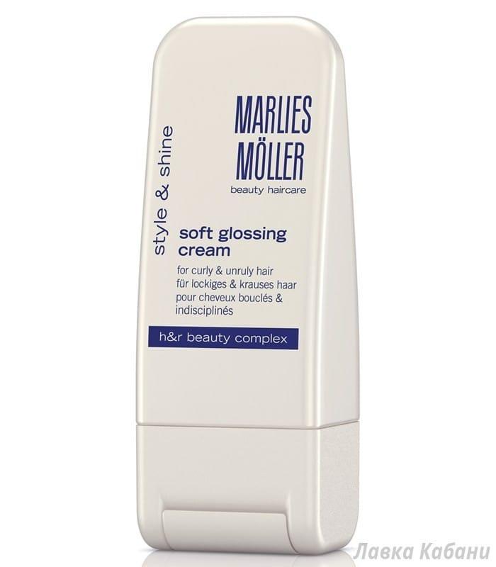 Фото Крем-блеска для выпрямления волос Marlies Moller