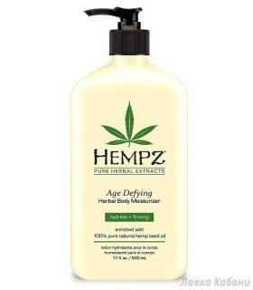 Фото Антивозрастного растительного молочка для тела Hempz