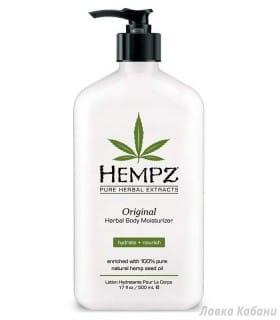 Фото Оригинального растительного молочка для тела Hempz
