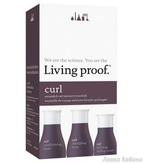 Фото Дорожного набора для кудрявых волос Living Proof