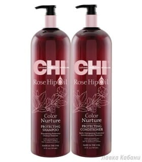 Фото Набора для окрашенных волос CHI Rose Hip Oil