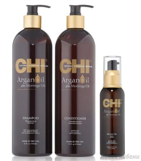 Фото Набора CHI Argan Oil Moisture Revival Kit