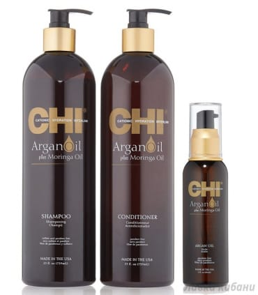 Набор CHI Argan Oil Moisture Revival Kit