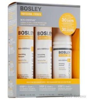 Фото Желтой системы для нормальных окрашенных волос Bosley