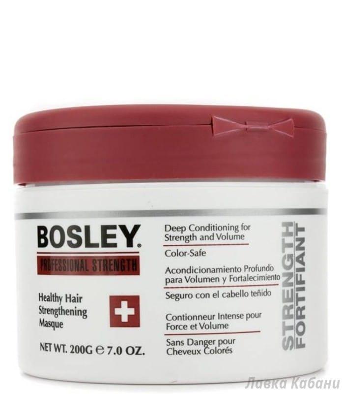 Фото Маски оздоравливающей укрепляющей Bosley