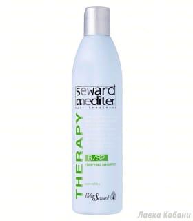 Фото очищающего шампуня для сухой кожи головы Хелен Севардр