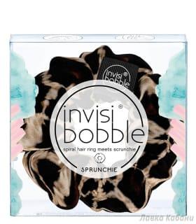 Фото Invisibobble Sprunchie леопардовая