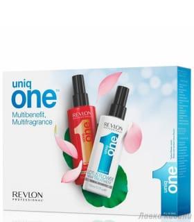 Набор спрей-уход + спрей уход с ароматом лотоса Uniq One