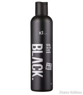 Мужской шампунь 3-в-1 Id Hair Black